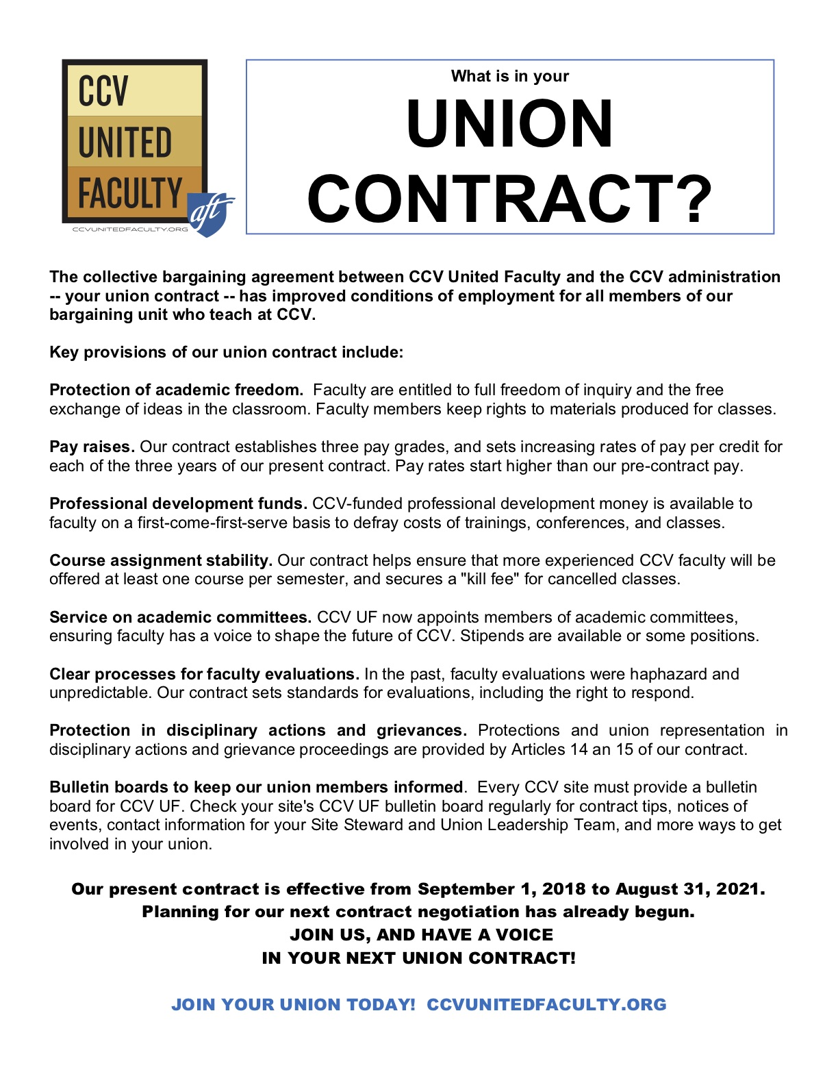 What Is In Your Union Contract?